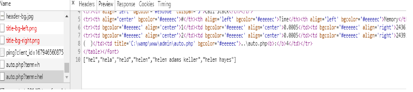 autocomplete jquery php mysql example