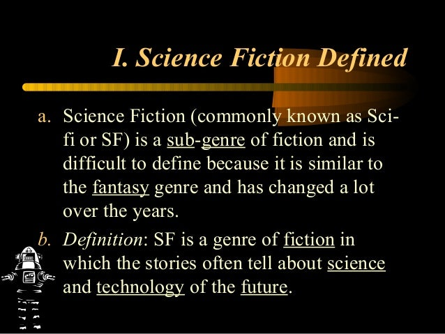 an example of a science fiction story