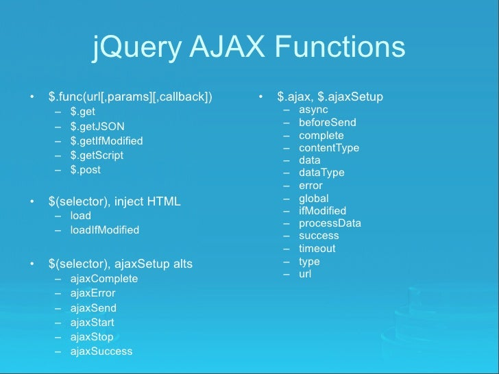 jquery ajax success function example