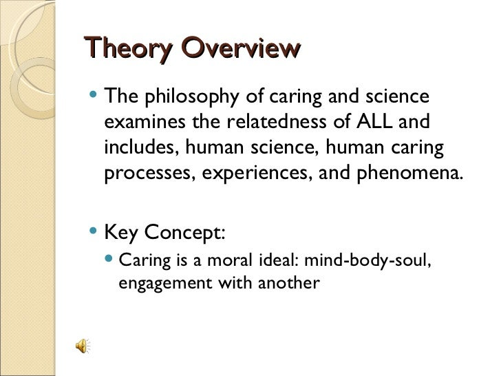 an example of a theory in science