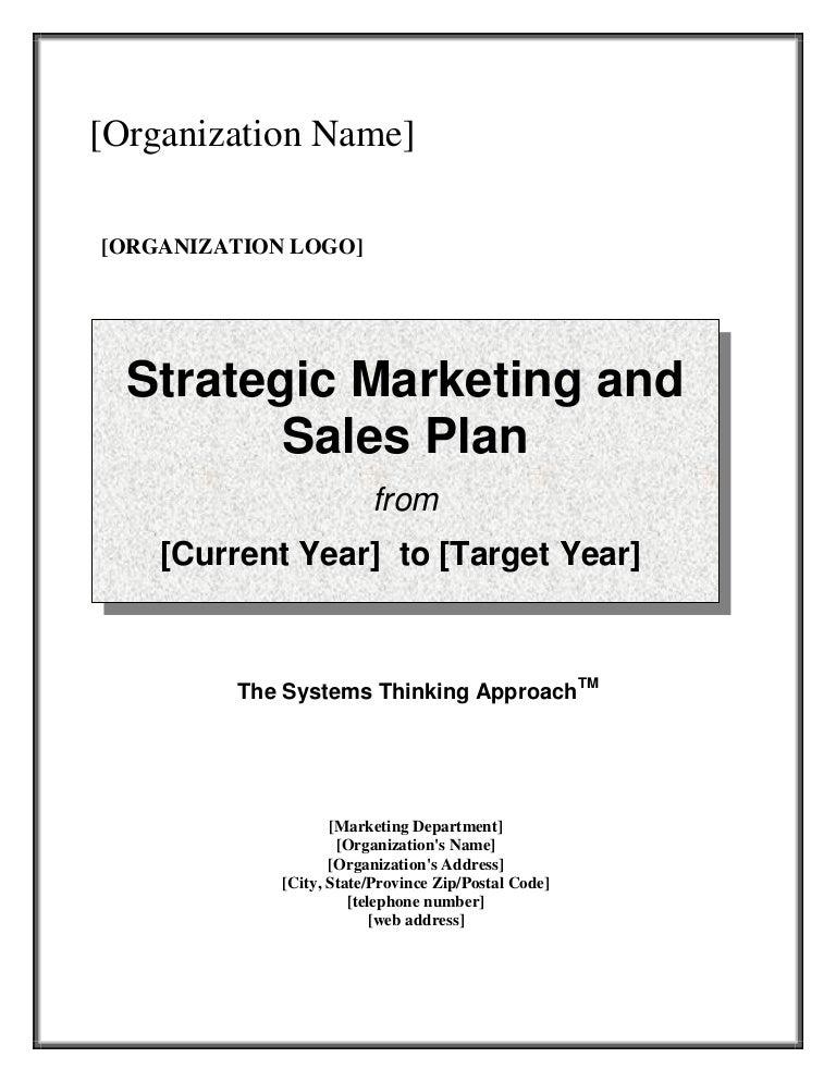 marketing plan sales forecast example