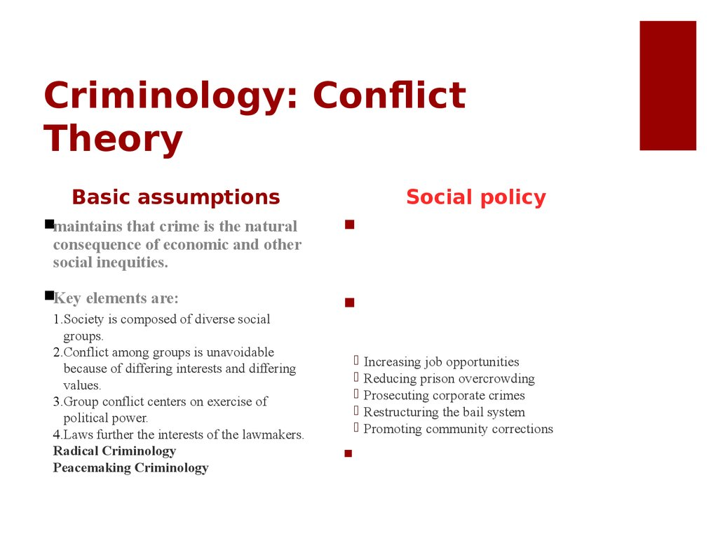 conflict theory example in vietnam