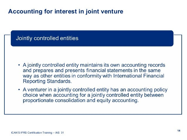 equity method of accounting for joint ventures example