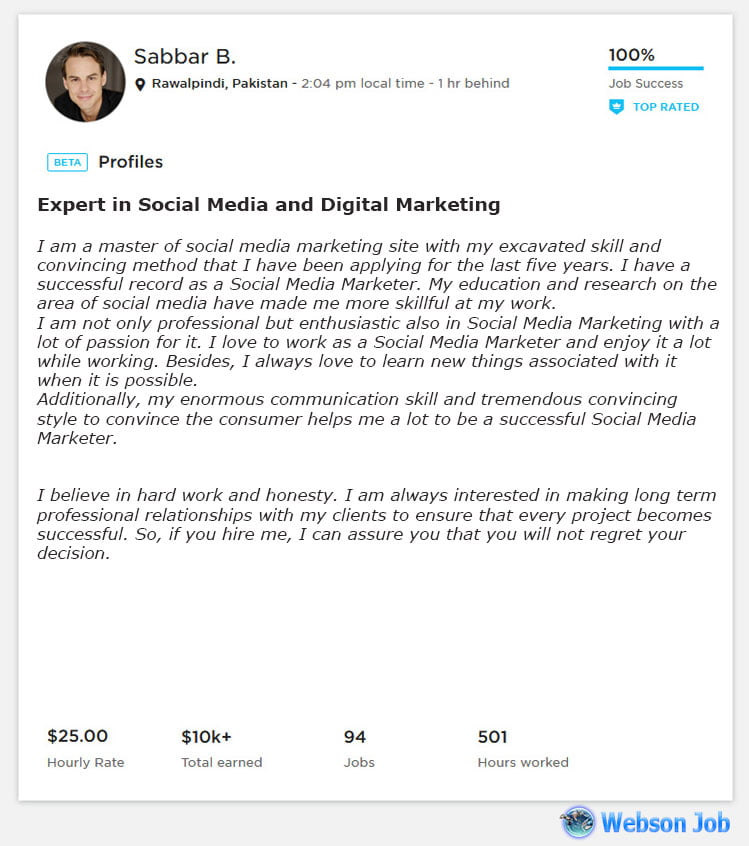 social media marketing proposal example