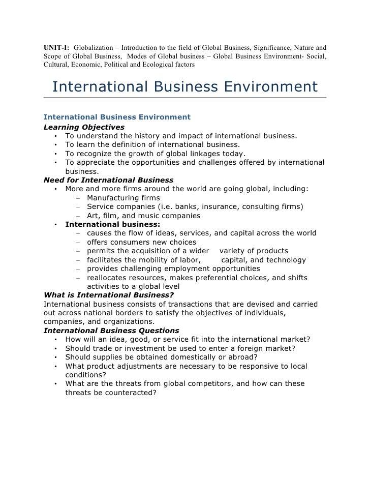 global politics paper 2 example