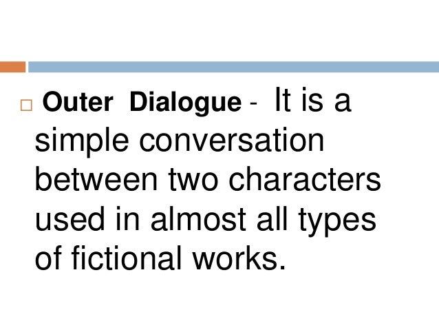 how to write dialogue between two characters example