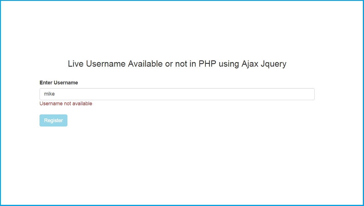 ajax using jquery in php example