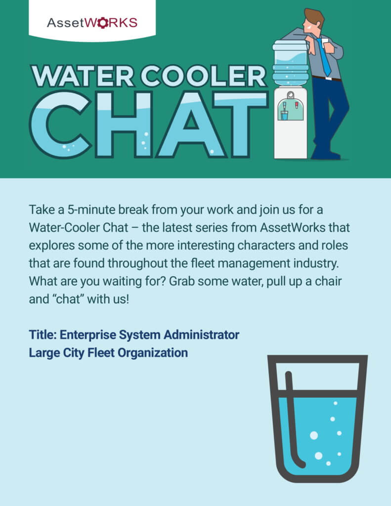 water cooler chats are an example of
