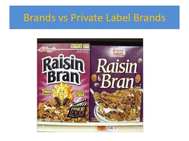 what is an example of a private label brand