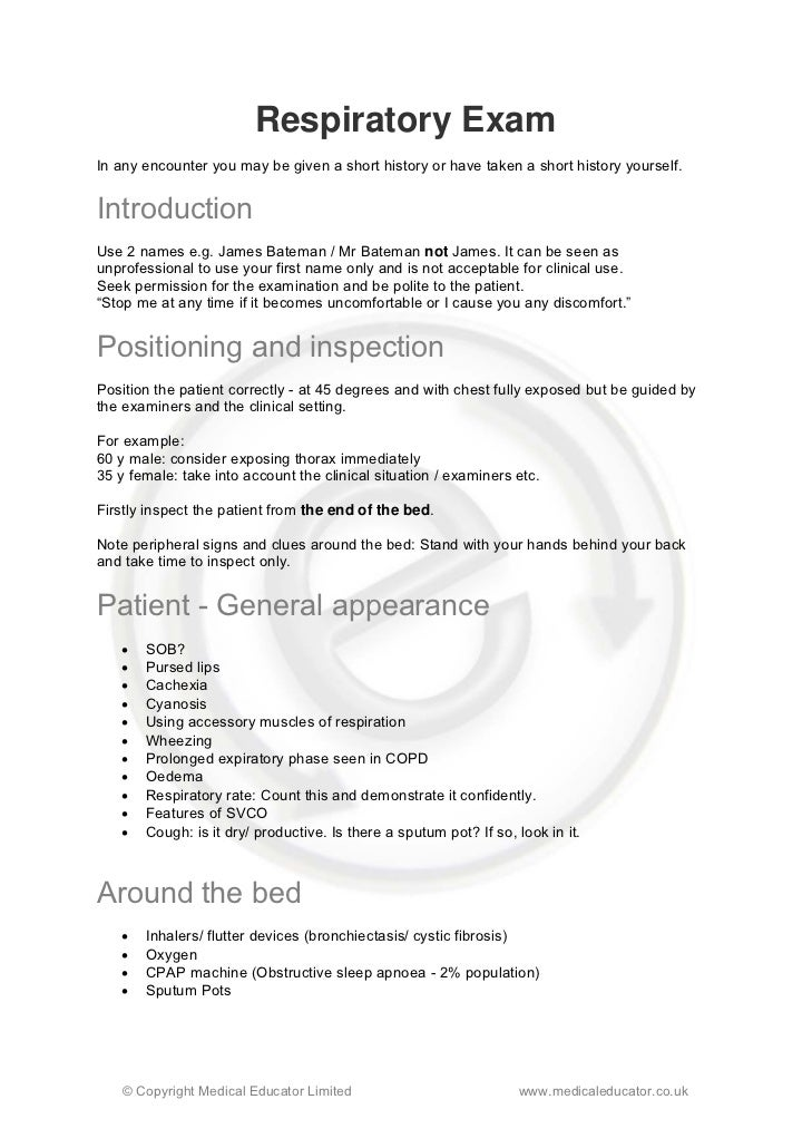 example of a health assessment checklist