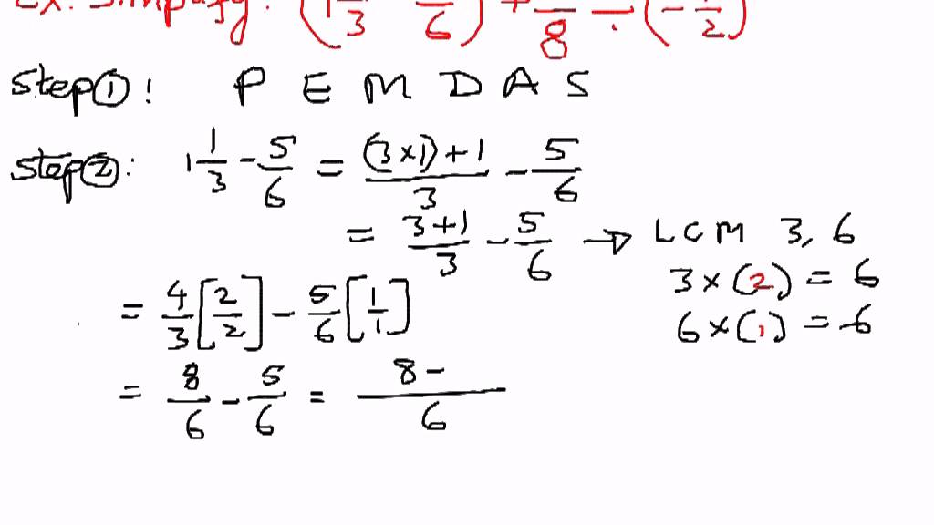 an example of a fraction