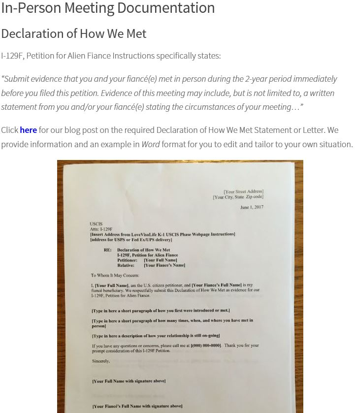 fiance letter of intent example