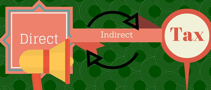 what is direct and indirect tax with example