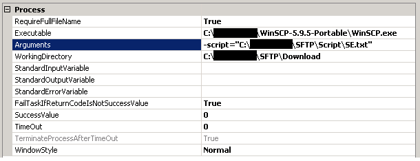 ftp quote site command example