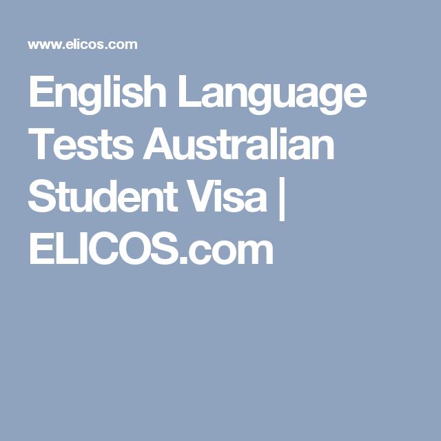 example of english test for australian visa