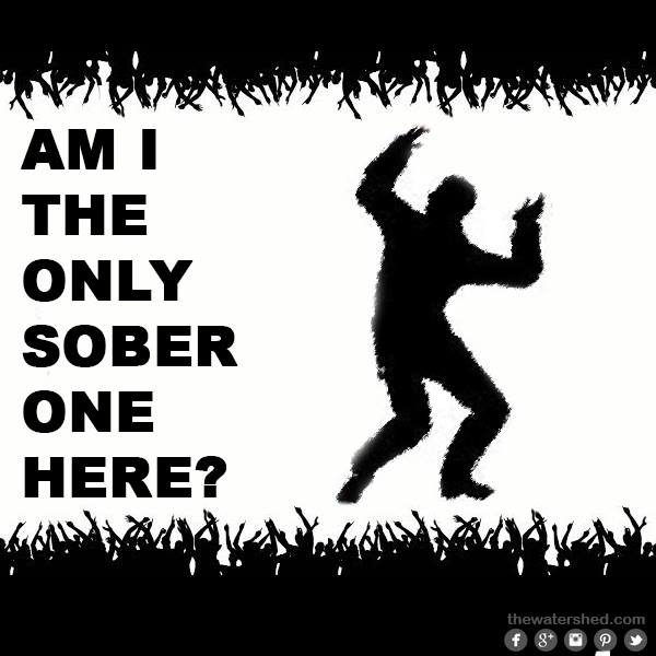 if i can be an example of getting sober