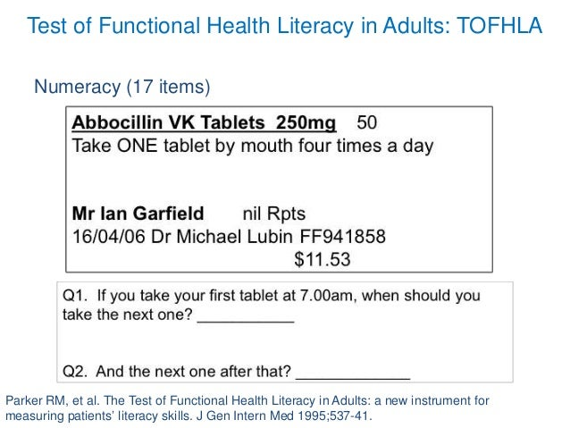 nhs numeracy and literacy test example