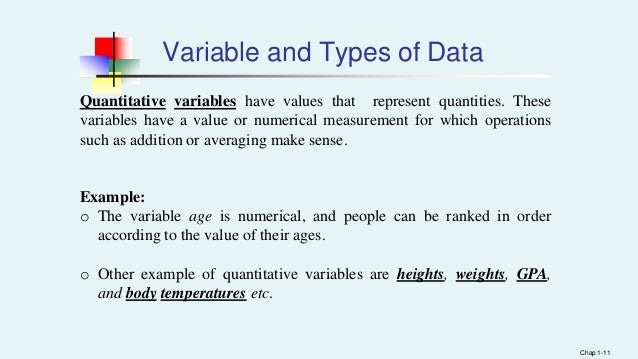 example of discrete variable in statistics