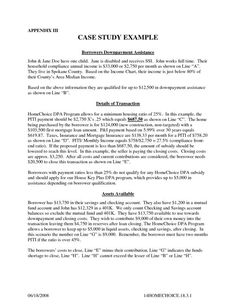case reports example for psychology students