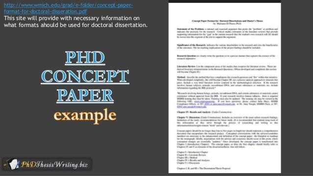 example of concept paper topics