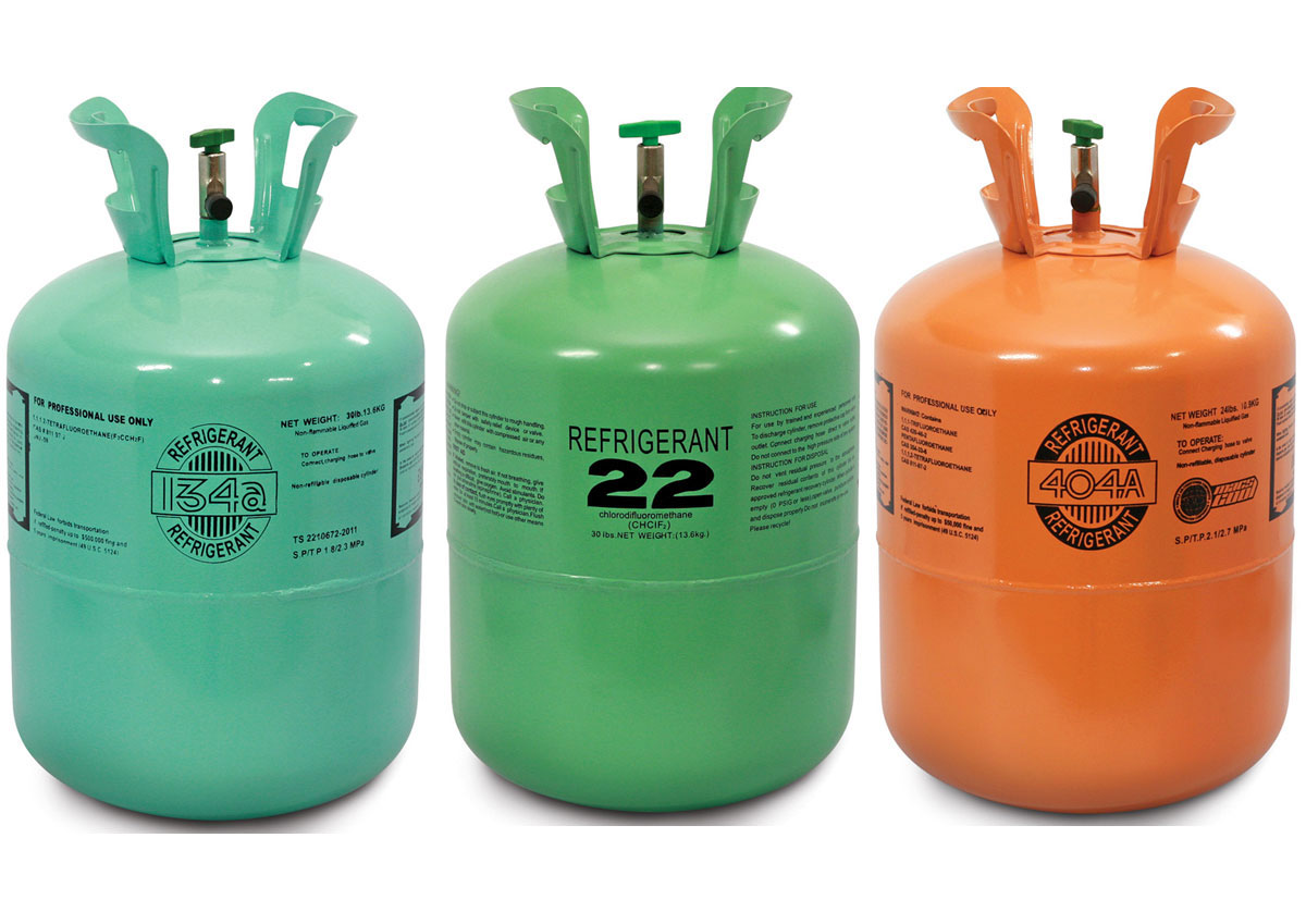 an example of an hcfc refrigerant is