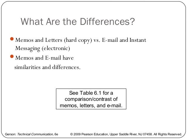 difference between communication and correspondence with example