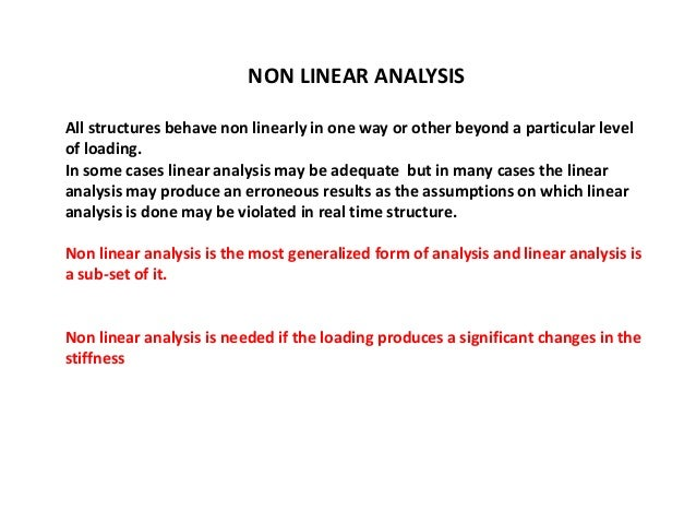 non linear text definition and example