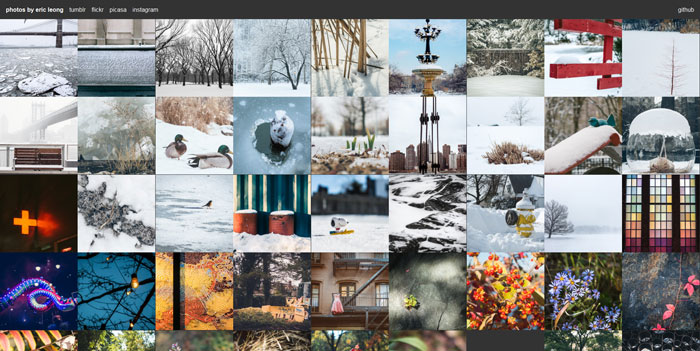 jquery mobile image gallery example