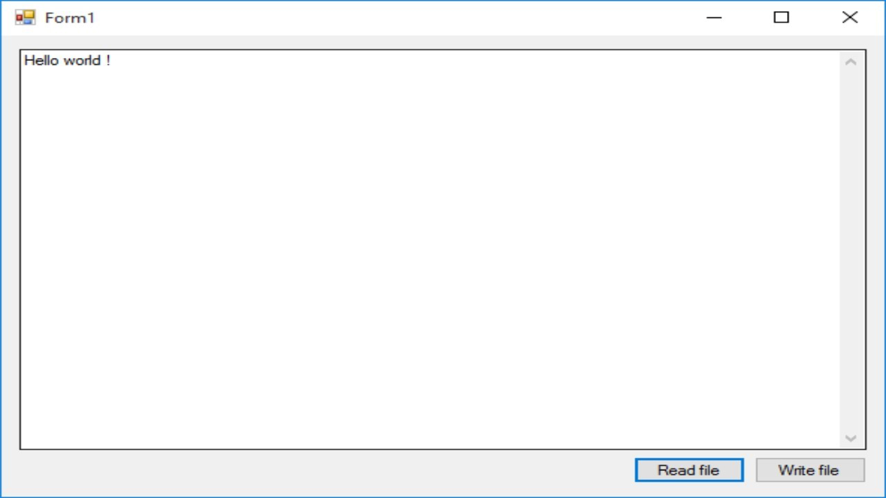 oops in c# with example