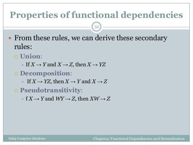 functional dependencies in database example