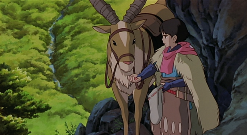 princess mononoke for example was sped up