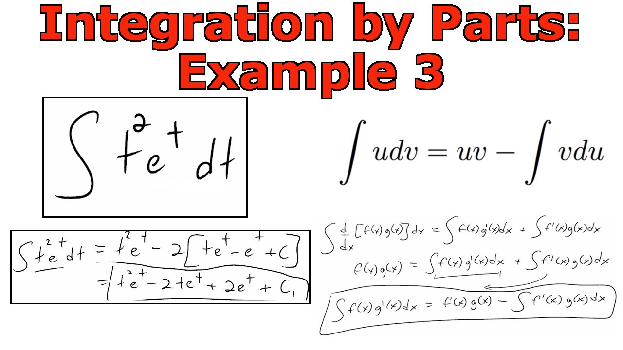 integration by parts fraction example