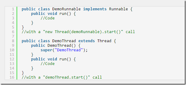 what is thread in java with example
