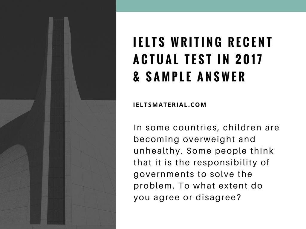 example of ielts test writing