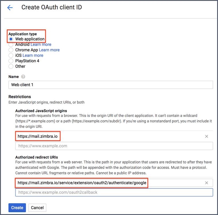 google calendar api oauth example