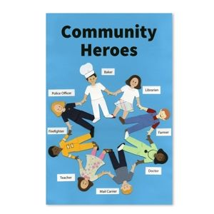 an example of thinking critically as a community worker