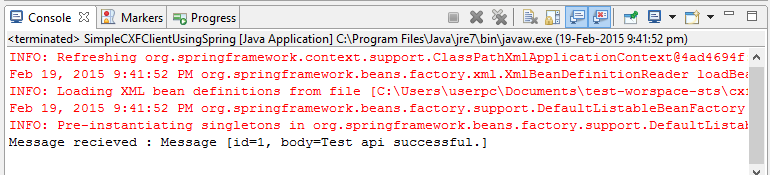 apache cxf rest client example