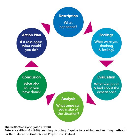 gibbs reflective cycle 1998 example