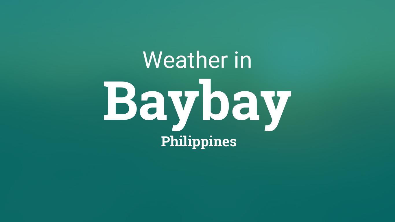 weather forecast script example philippines