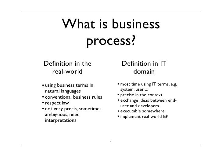 business process modeling segment example