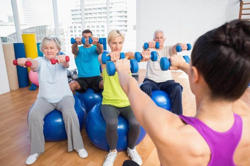 12 week exercise program example for older adult