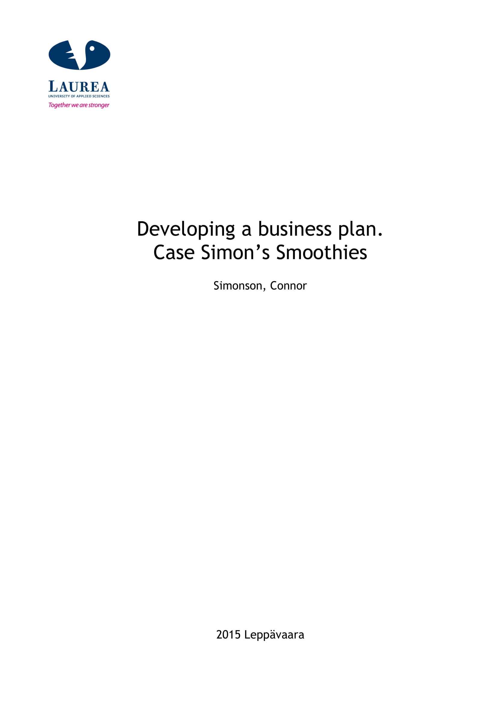 example of a business case proposal