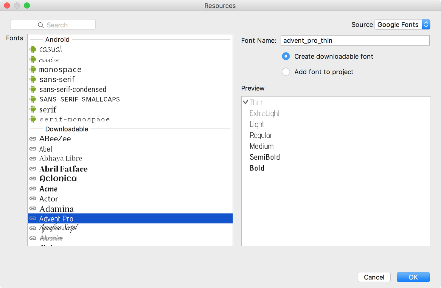 content provider example in android studio