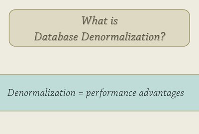 denormalization in database with example