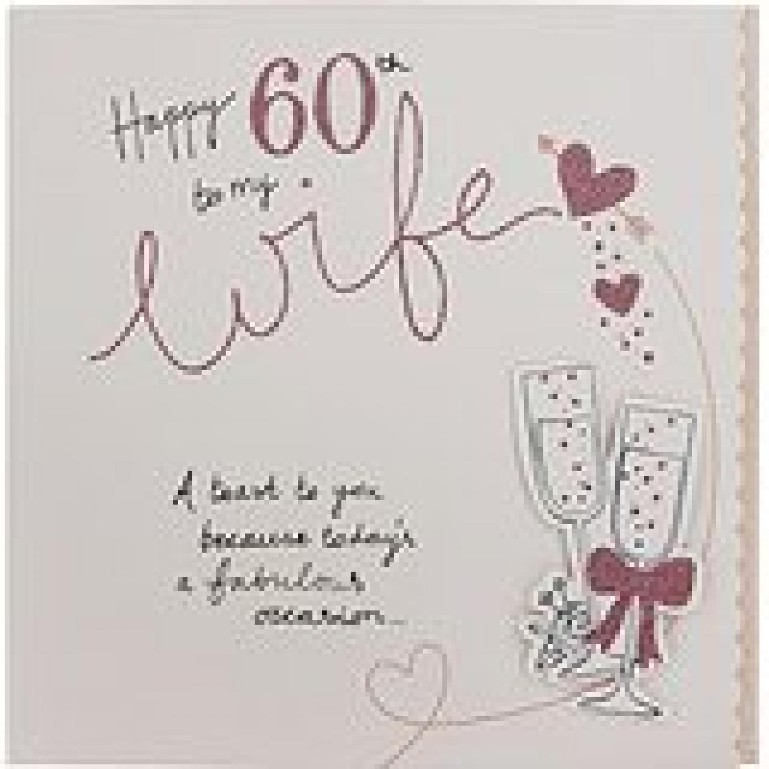example 60th birthday speech for wife