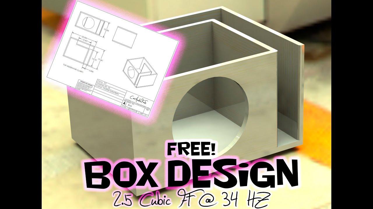 example of 3rd order speaker box