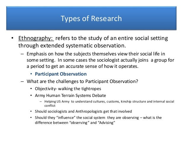 example of case study in anthropology