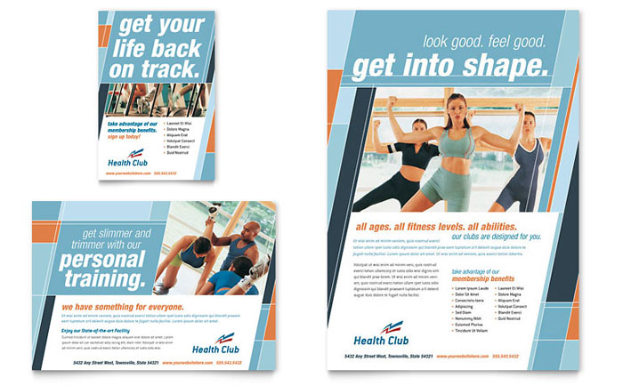 example of fitness instruction cards