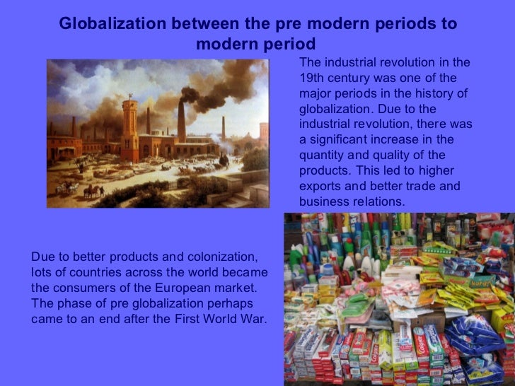 example of globalisation and economies of scale