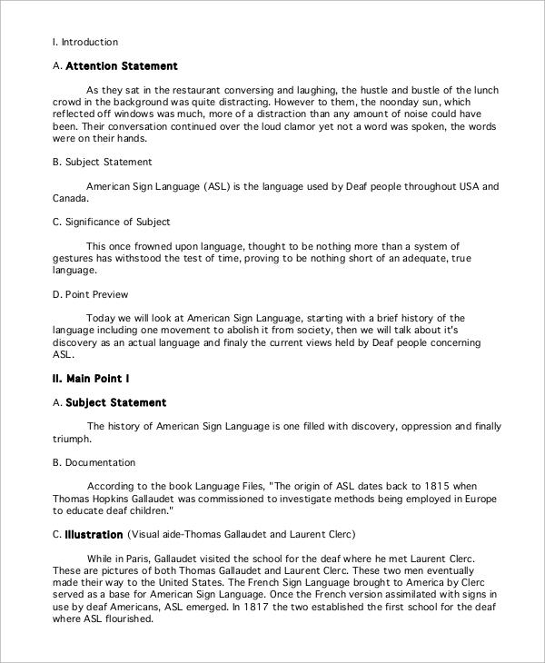 example of informative speech topics